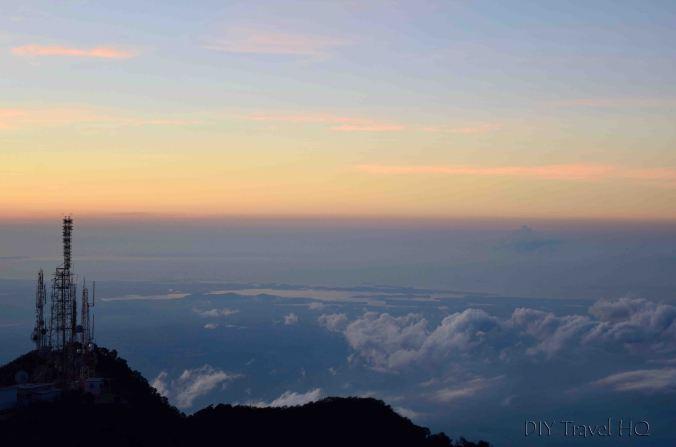 Volcan Baru View of Atlantic Ocean