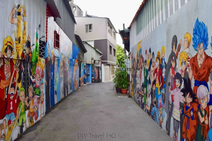 Cartoon Alley Taichung