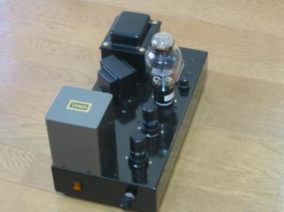 300B91型モノアンプ、自作真空管アンプ