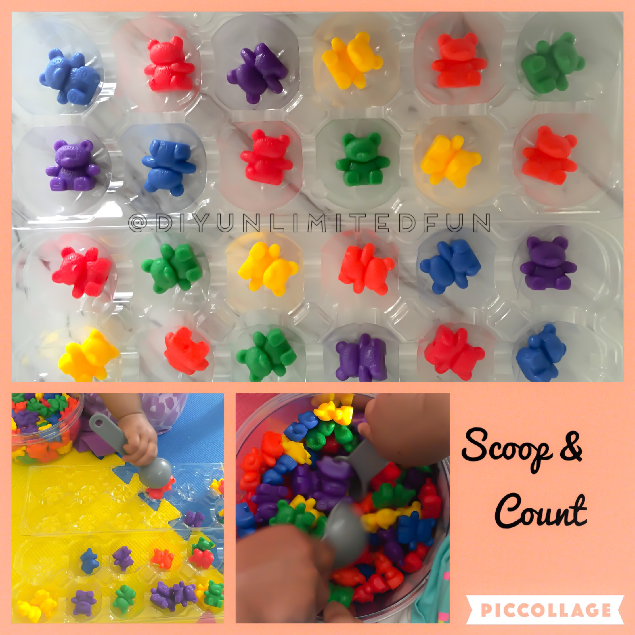 10 Counting Bear Math Activities Ages 2 6 Simple Diys