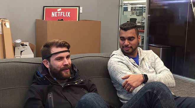 No Hands! Gadget Taps Brain Waves for Netflix Picks