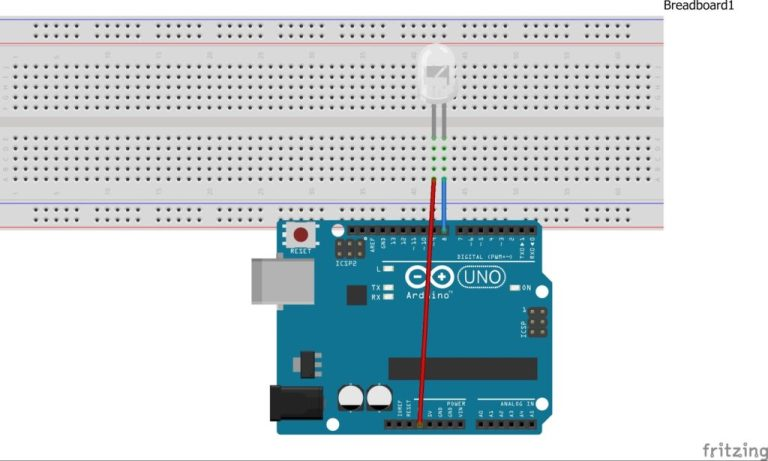 Interface LED with Arduino