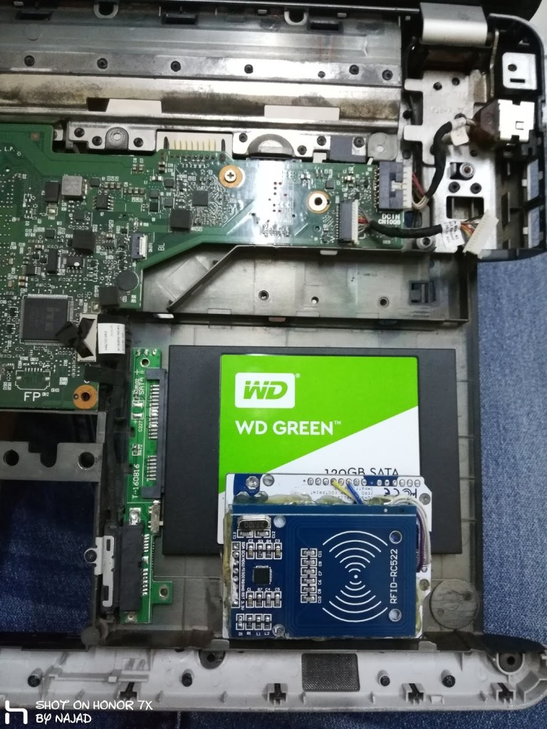 rfid laptop lock