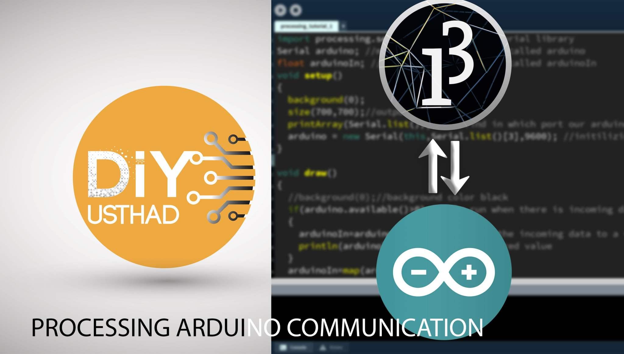 Arduino Processing Serial Communication
