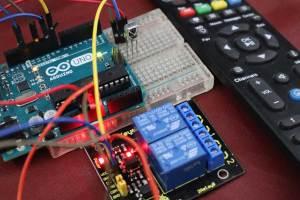 Arduino UNO IR Remote control