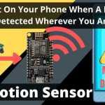 IoT Motion Sensor – NodeMCU ESP8266 + PIR
