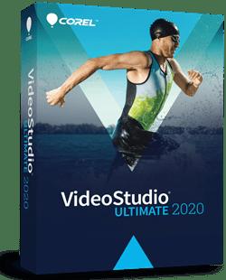 Corel Videostudio 2020 product box image