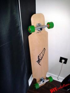 DIY Longboard Ecke