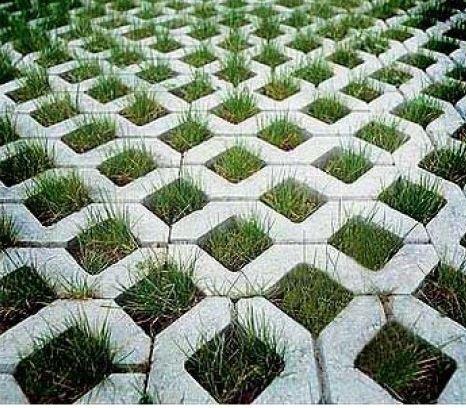Container paving mould Grassblock Mould