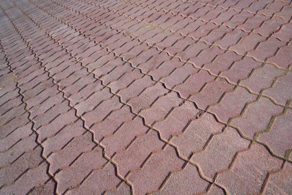 Container paving mould Interlocker Brick