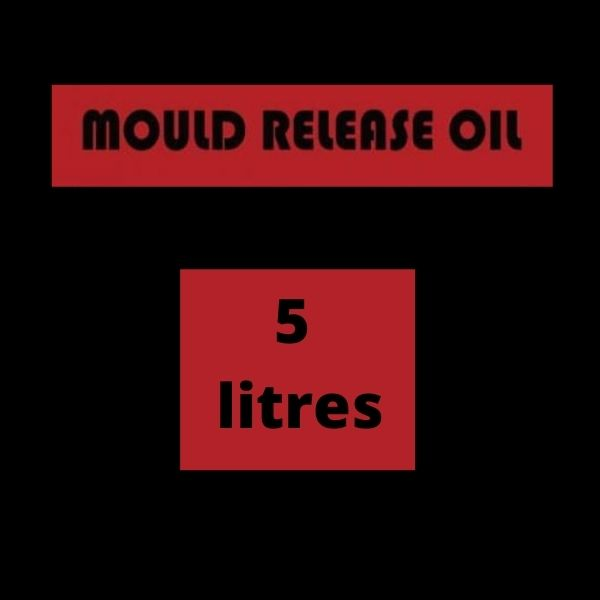 Release Agent 5 litres - Mould release Oil