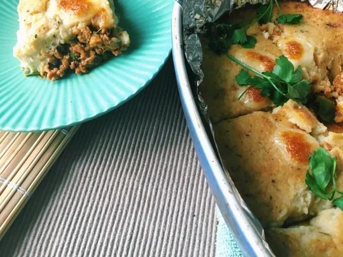Low Carb Turkey Cottage Pie
