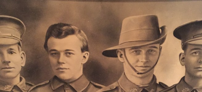 First World War Australian soldiers bound for the Somme | more on diywoman.net