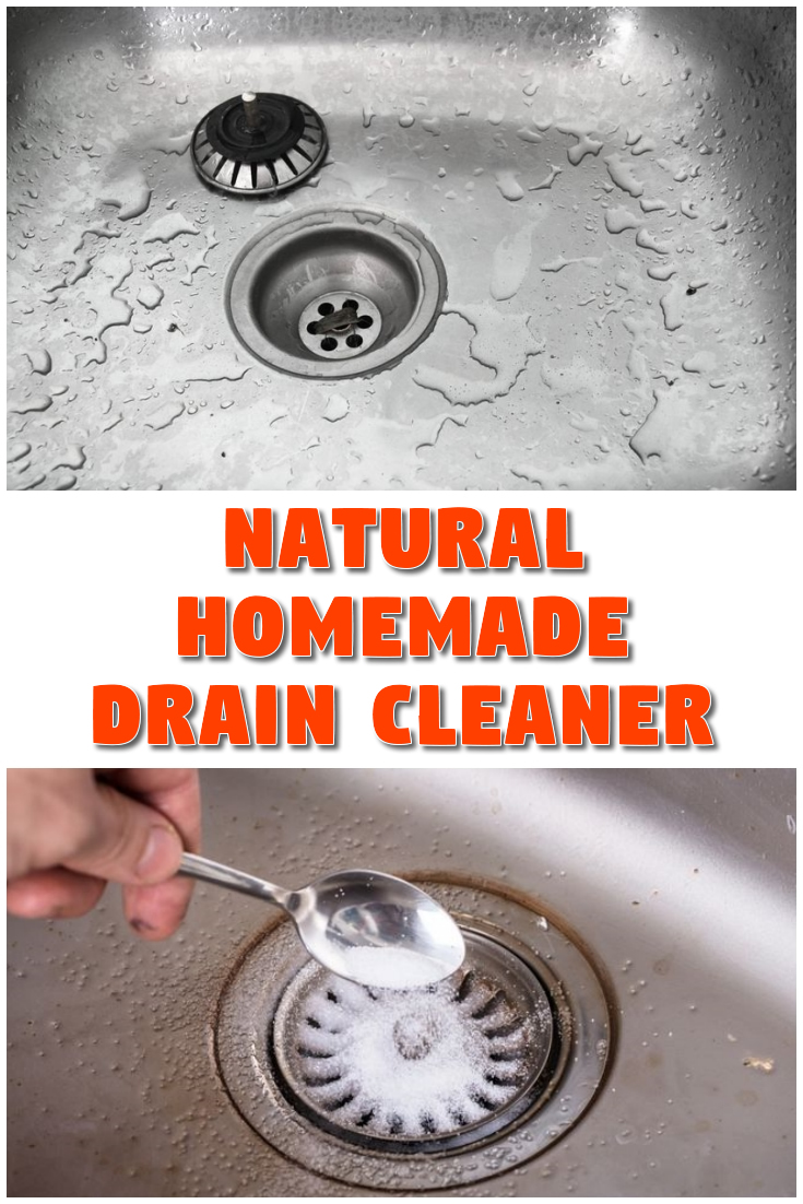 Natural Homemade Drain Cleaner