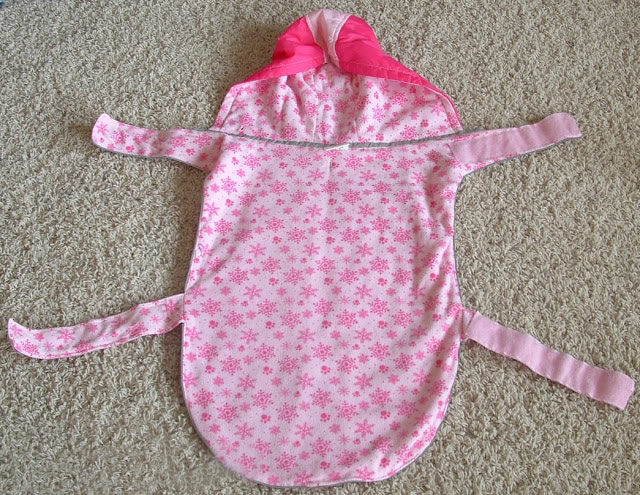 DIY Dog Adorable Rain Coat