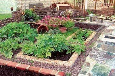 ландшафтный дизайн огорода 2