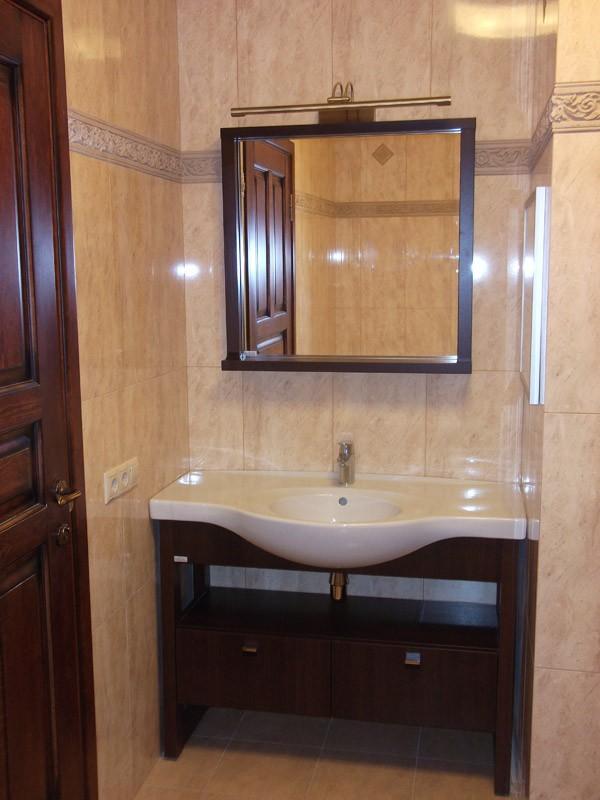 дизайн маленькой ванной комнаты без туалета 6