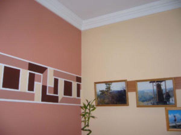 фото стен кухни окрашенные водоэмульсионной краской