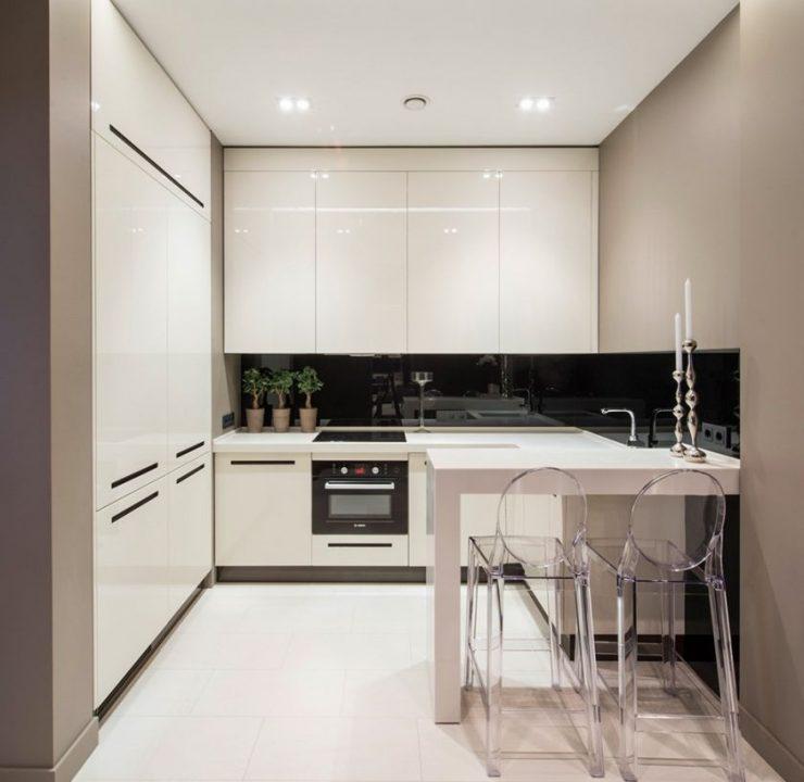 дизайн кухни 9 кв м в панельном доме 7