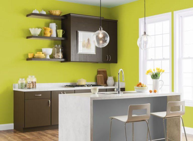 цвет стен кухни сочетание цветов фото сочетания белым