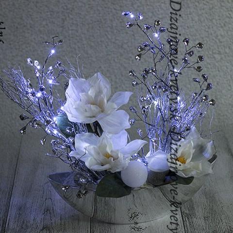 Luxusné tradičné vianočné kvety