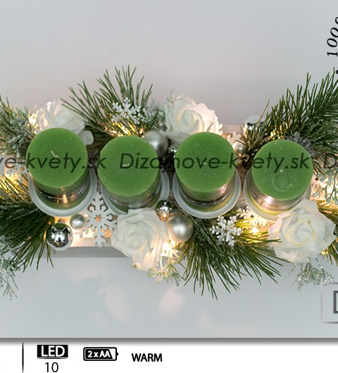 moderné svietnik, vianočný svietnik svietnik s dizajnovými sviečkami