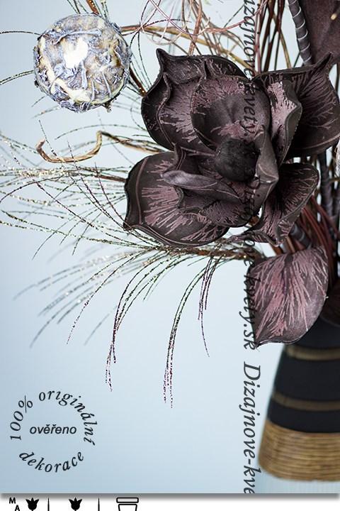 veľké kvety, dizajnové kvety, moderné väzba, luxusné kvety