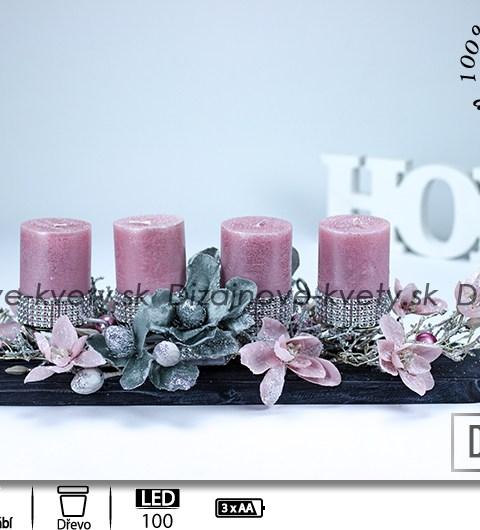 adventný svietniky, svietnik na stôl, luxusné dekorácie, bytová dekorácie