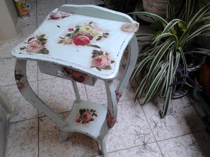 Декупаж мебели салфетками фото тем