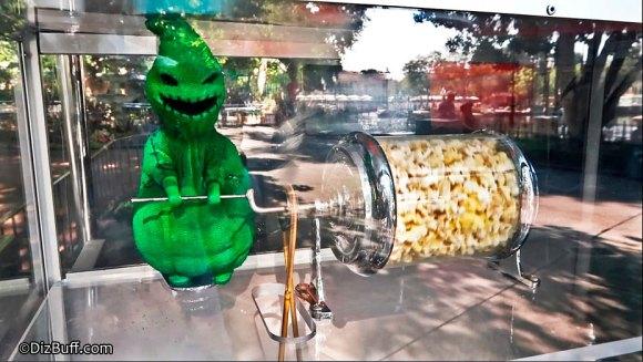 Oogie Boogie Popcorn Turner Roastie Toastie at Haunted Mansion Disneyland