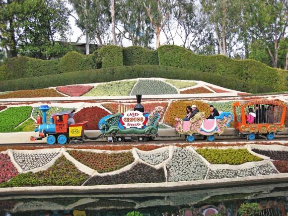 Casey Jr Train at Disneyland