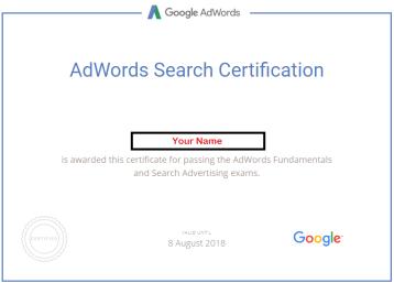 Google Certificate DizitalSquare