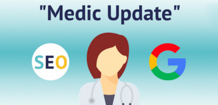 Latest Core Algorithm Update August 1, 2018 known as Medic Update