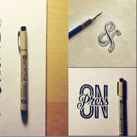 Hand Lettering & Type Design by Sean McCabe AKA Seanwes