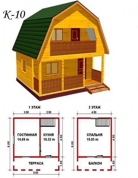Proyecto de casa de casas de casa de dos pisos