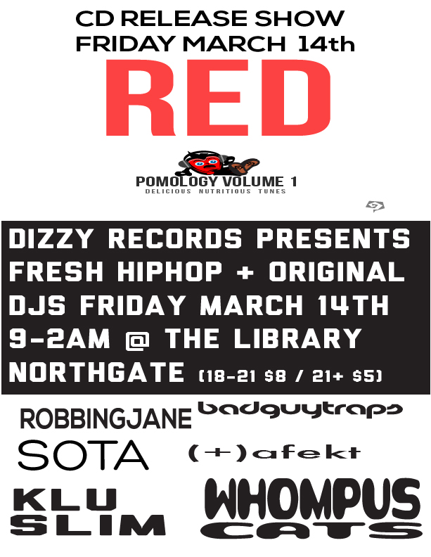 Pomology Release Party Flyer