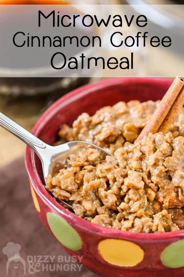 cinnamon coffee microwave oatmeal