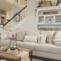 20 + Home Decor Ideas Living Room Rustic Farmhouse Style Ideas 12