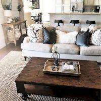 20 + Home Decor Ideas Living Room Rustic Farmhouse Style Ideas 17