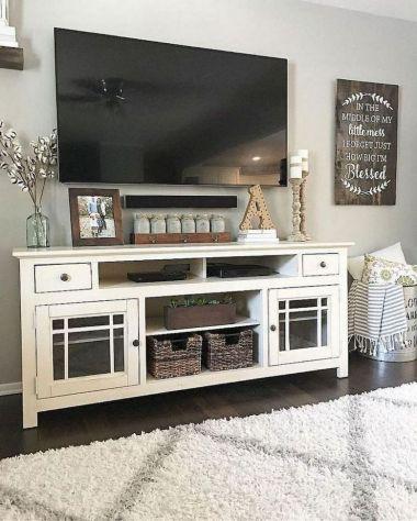 20 + Home Decor Ideas Living Room Rustic Farmhouse Style Ideas 22