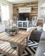 20 + Home Decor Ideas Living Room Rustic Farmhouse Style Ideas 28