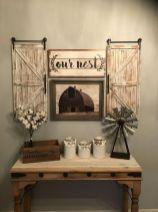20 + Home Decor Ideas Living Room Rustic Farmhouse Style Ideas 29