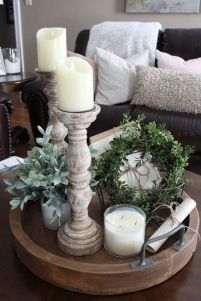 20 + Home Decor Ideas Living Room Rustic Farmhouse Style Ideas 36