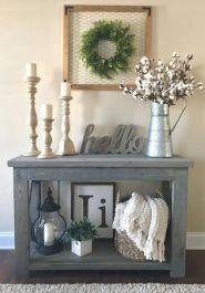 20 + Home Decor Ideas Living Room Rustic Farmhouse Style Ideas 48