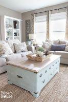20 + Home Decor Ideas Living Room Rustic Farmhouse Style Ideas 6