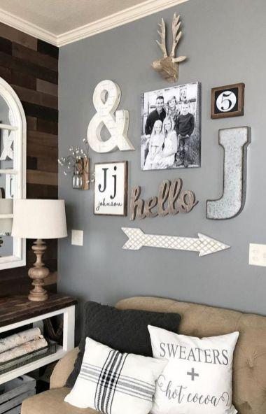 23 + Reason You Didn't Get Farmhouse Decor Living Room Rustic Wall 44