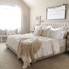 25 + That Will Motivate You Master Bedroom Ideas Rustic Farmhouse Style Bedding 1