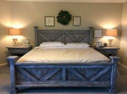 25 + That Will Motivate You Master Bedroom Ideas Rustic Farmhouse Style Bedding 31