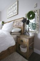 25 + That Will Motivate You Master Bedroom Ideas Rustic Farmhouse Style Bedding 7