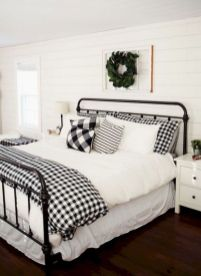 25 + That Will Motivate You Master Bedroom Ideas Rustic Farmhouse Style Bedding 9